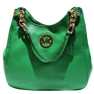Michael Kors Fulton Chain Shoulder Tote